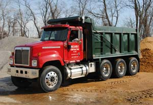 Reliable Contracting Dump Truck Delivery