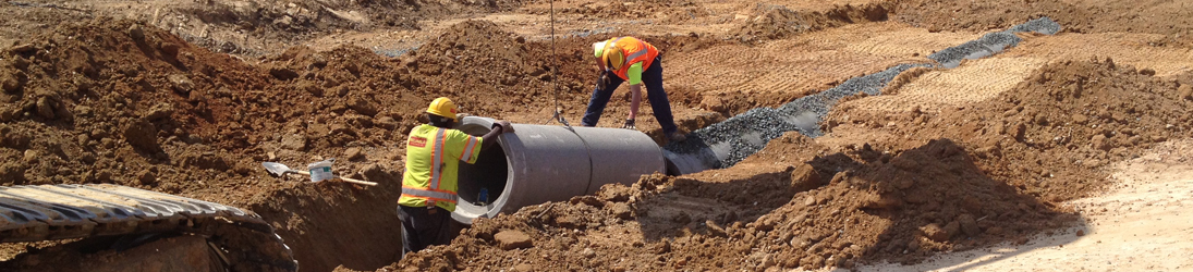 Laying Utility Pipes