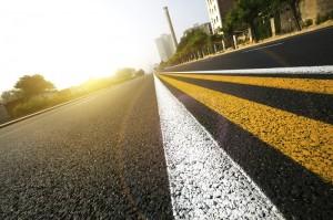 road striping