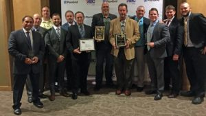 Reliable Contracting Proudly Receives ABC Excellence in Construction Award for Solar Park