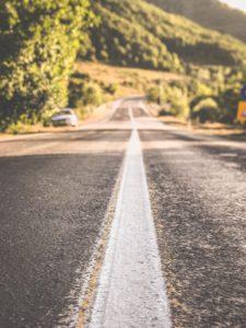 Preparing Asphalt for Road Striping